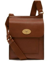 Mulberry - New Antony Bag In Oak - Lyst