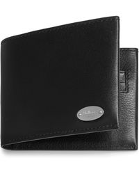 Mulberry - Oval Plaque 6 Card Wallet - Lyst
