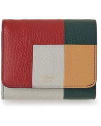 Mulberry - Small Continental French Purse In Green Oversized Patchwork - Lyst