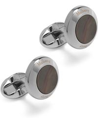 Mulberry - Round Mother Of Pearl Cufflinks - Lyst