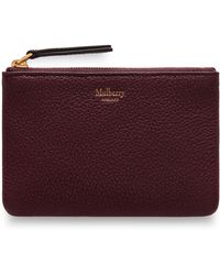 Mulberry - Zip Coin Pouch - Lyst