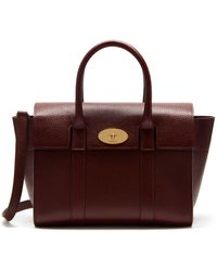 Mulberry Small Bayswater Double Zip Tote - Brown
