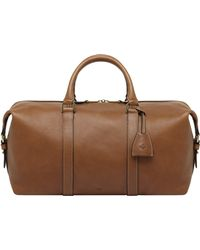 Mulberry - Clipper Small Leather Travel Bag - Lyst