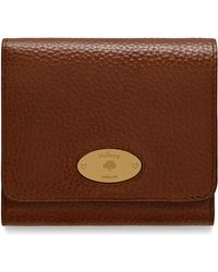 Mulberry - Plaque Small French Purse - Lyst