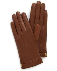 Mulberry - Soft Nappa Leather Gloves - Lyst