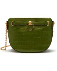 Mulberry - Brockwell In Dark Olive Croc Print - Lyst 54e564a9572ed