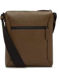 Mulberry Urban Small Messenger In Dark Palm Heavy Grain - Green