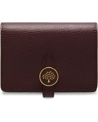 Mulberry - Tree Card Holder Wallet - Lyst