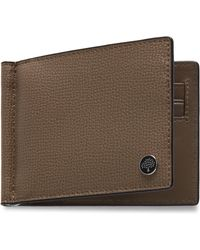 Mulberry - Money Clip Wallet With Tree Plaque - Lyst