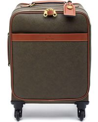 Mulberry - Four Wheel Trolley In Mole And Cognac Scotchgrain - Lyst