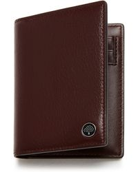Mulberry Card Wallet With Tree Plaque - Brown