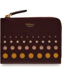 Mulberry - Part Zip Coin Pouch - Lyst