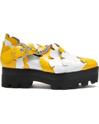 Mulberry Track Flower Chain Flat - Multicolour