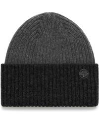 Mulberry - Knitted Beanie - Lyst
