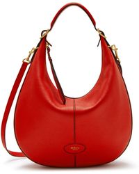 Mulberry - Small Selby In Hibiscus Red Small Classic Grain - Lyst 1a8bb71388484