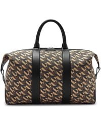Mulberry Zipped Weekender In Black M Jacquard