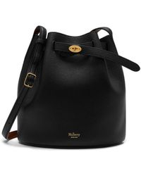 Mulberry - Abbey In Black Small Classic Grain - Lyst