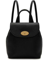 Mulberry - Mini Bayswater Backpack In Black Small Classic Grain - Lyst