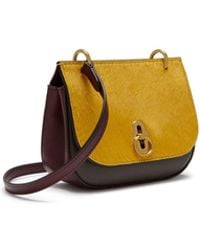 c331ad47a5ae Mulberry - Mini Amberley Satchel In Golden Yellow