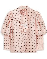 Mulberry Penelope Blouse - Pink