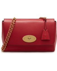 Mulberry Medium Lily Shoulder Bag - Red