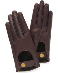 Mulberry - Biker Gloves - Lyst