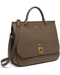 Mulberry - Amberley In Clay Small Classic Grain - Lyst
