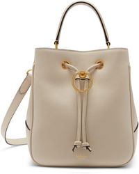 Mulberry - Hampstead In Chalk Silky Calf - Lyst