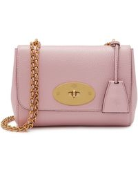 Mulberry Lily In Powder Pink Small Classic Grain