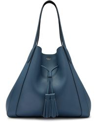 Mulberry Millie Drawstring Tote Bag - Blue