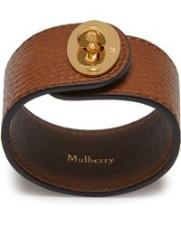 Mulberry | Large Bayswater Bracelet | Lyst
