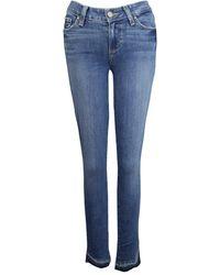 PAIGE Verdugo Ankle Skinny Jean - Blue