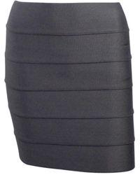 Pleasure Doing Business Bandage Skirt - Gray