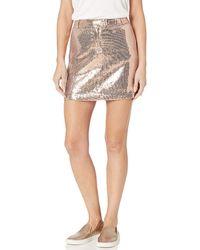 BB Dakota Sequin Mini Skirt - Multicolor