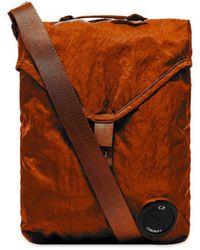 C.P. Company Cp Company Lens Crossbody Bag - Orange