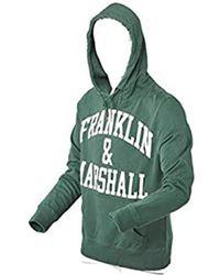 Franklin & Marshall Fleece Hoodie - Green
