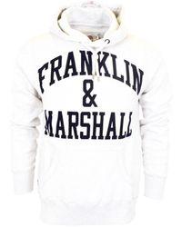 Franklin & Marshall Front Logo Print Tracksuit - White
