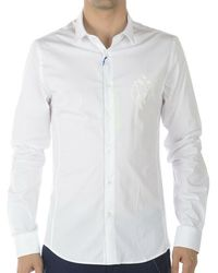 Versace Jeans Couture - Extra Slim Fit Pop Stretch Shirt - Lyst