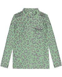 Hilfiger Denim Vyoma Biker Women's Denim Jacket - Green