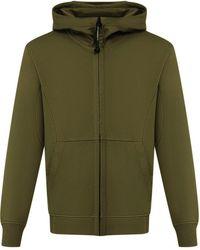 C.P. Company - Cp Company Diagonal Fleece Goggle Sweatshirt - Lyst