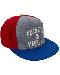 Franklin & Marshall Embroidery Logo Contrast Detail Cap - Multicolour