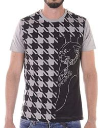 Versace Jeans Couture - Slim Fit Tiger Printed T-shirt - Lyst