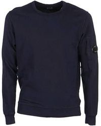 C.P. Company Cp Company Lens Light Sweatshirt - Blue
