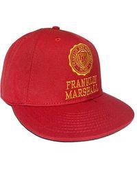 Franklin & Marshall Embroidered Crest Logo Baseball Cap