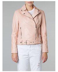 4307d050c Alchemillia Belted Biker Jacket - Multicolour