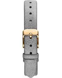 MVMT - Mod - 12mm Grey Leather - Lyst