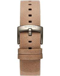 MVMT - Blacktop - 24mm Sandstone Leather - Lyst
