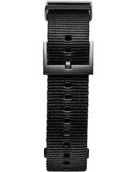 MVMT Voyager - 21mm Black Nylon
