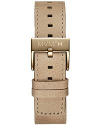 MVMT - Chrono - 20mm Sandstone Leather - Lyst