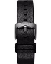 MVMT | Revolver - 20mm Black Leather | Lyst